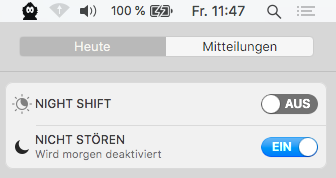 macOS Do Not Disturb